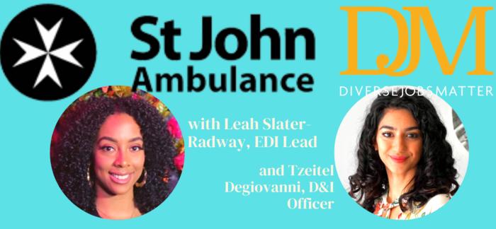 St John Ambulance and DJM, in Conversation